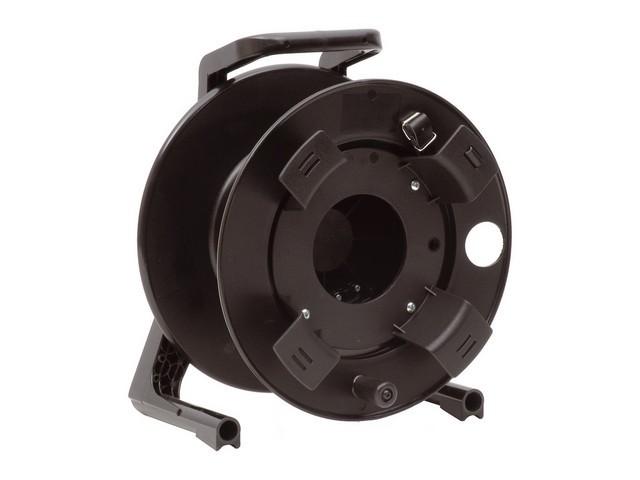 Afbeelding van Schill GT-310.RM lege kunststof haspel met rubberen zijwangen, opwindspoel en rem