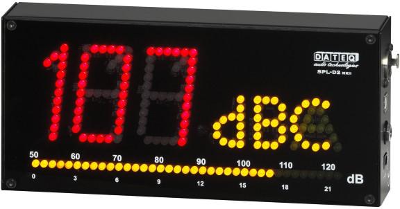 Afbeelding van Dateq SPL-D2 geluidsdrukmeter inclusief meetmicrofoon