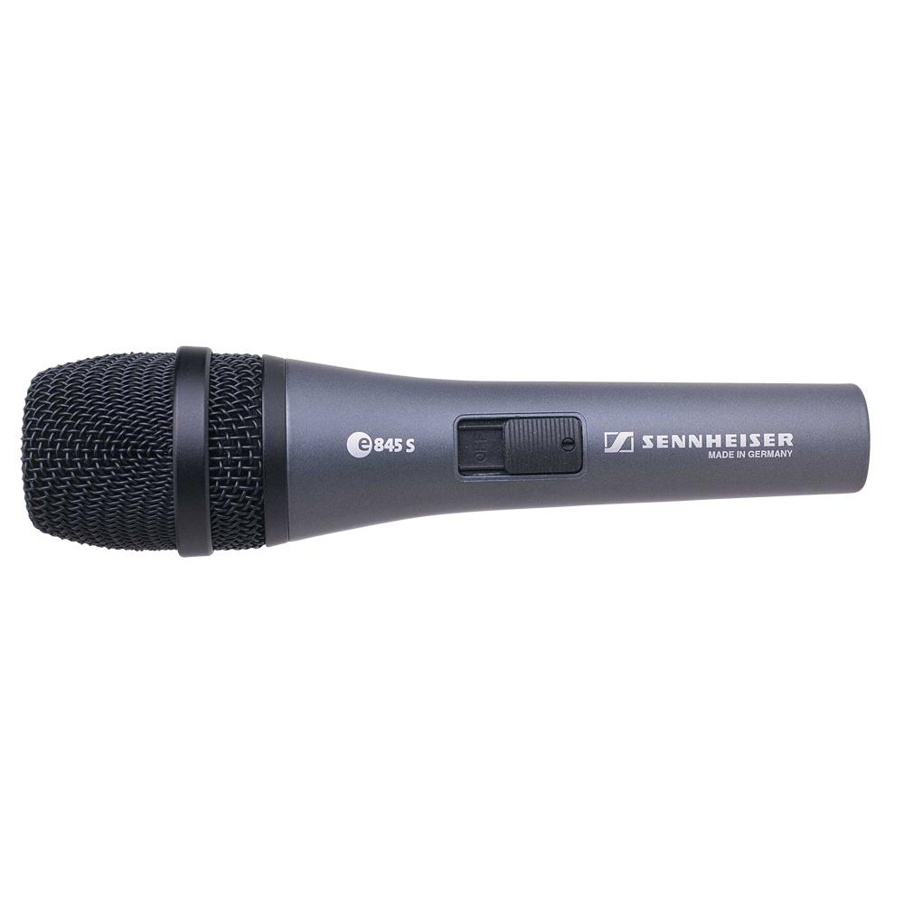 Afbeelding van Sennheiser E 845s zangmicrofoon dynamisch met schakelaar