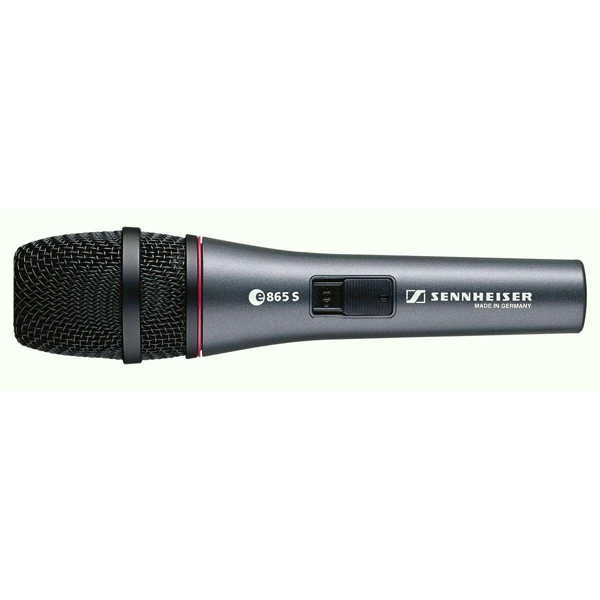 Afbeelding van Sennheiser E 865s zangmicrofoon condensator met schakelaar