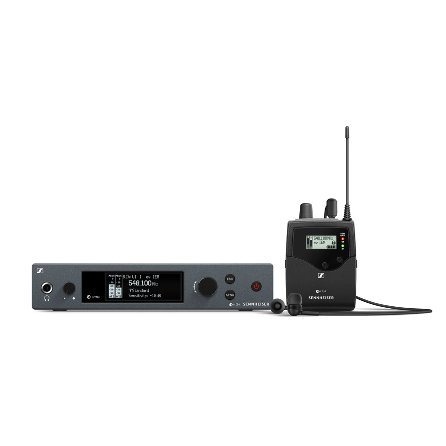 Afbeelding van Sennheiser EW IEM G4 B In-ear Monitoring Set