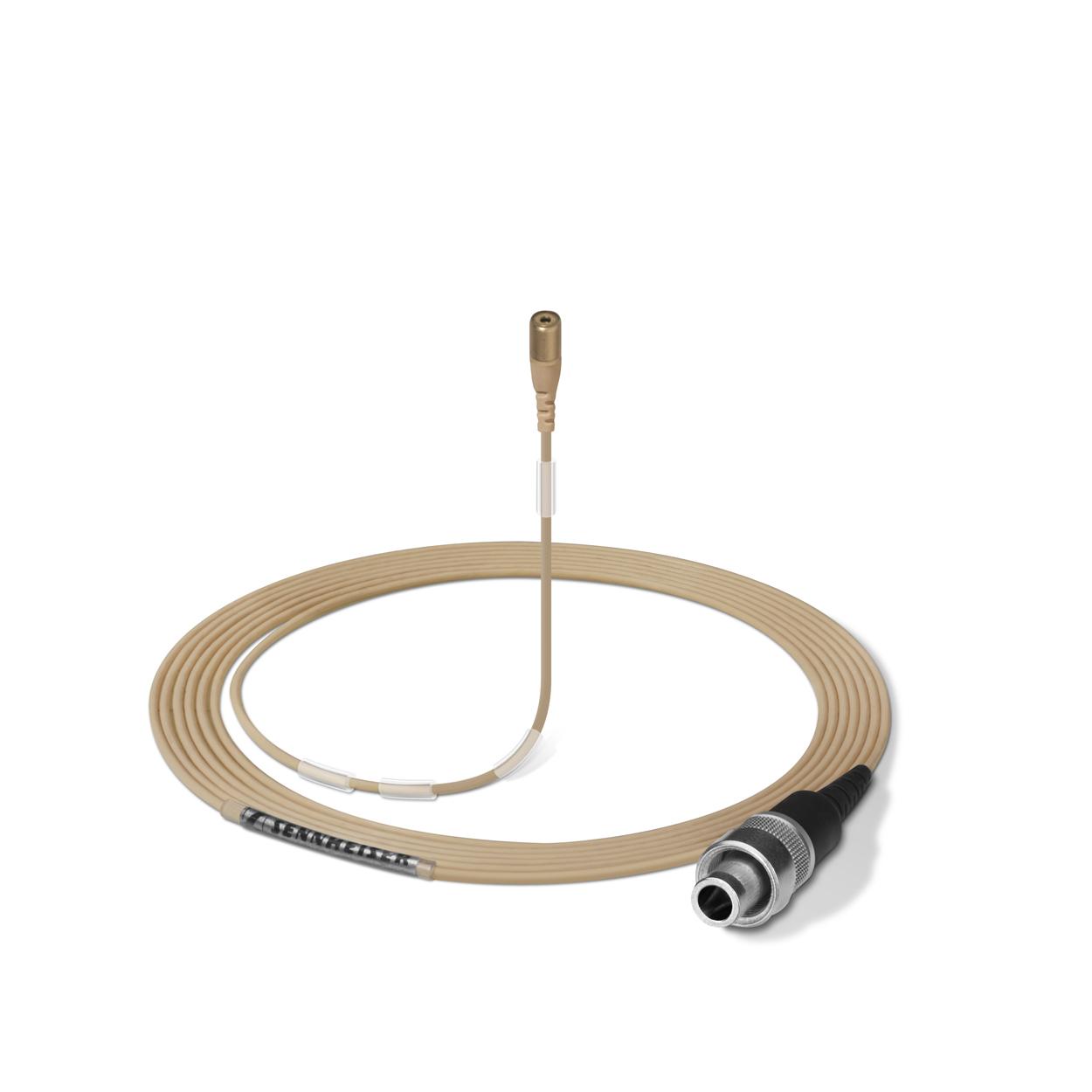 Afbeelding van Sennheiser MKE 1-4-3 beige lemo miniatuur lavalier microfoon