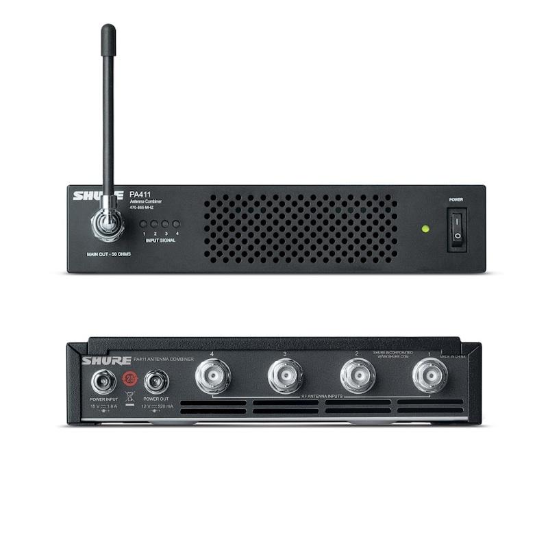 Afbeelding van Shure PA 411 Antennecombiner voor PSM-300 serie