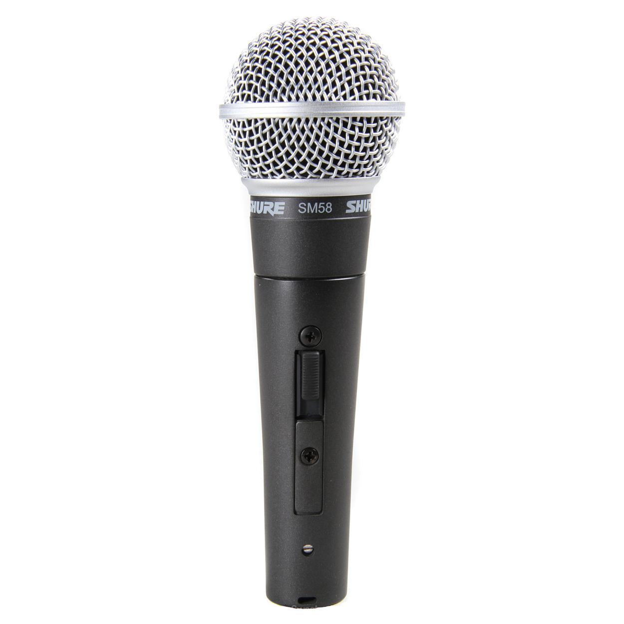 Afbeelding van Shure SM 58 SE zangmicrofoon dynamisch met schakelaar