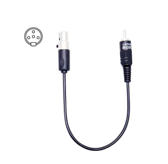 Afbeelding van Catchbox kabel voor Shure zendersysteem 4p mini-XLR