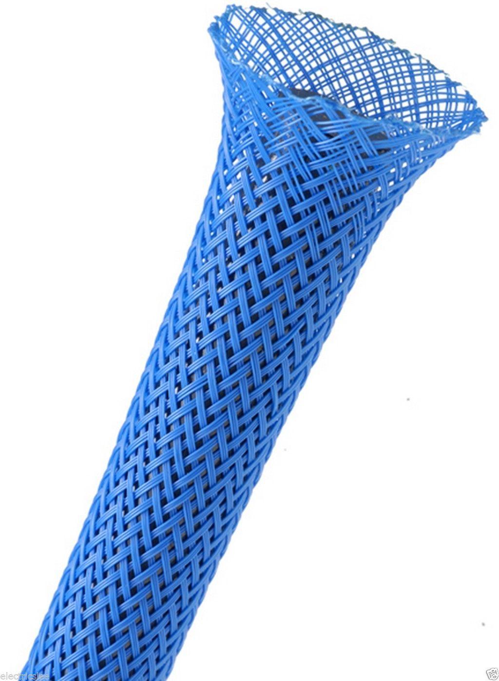 Afbeelding van Techflex Flexo Pet sleeving 6,4 mm blauw