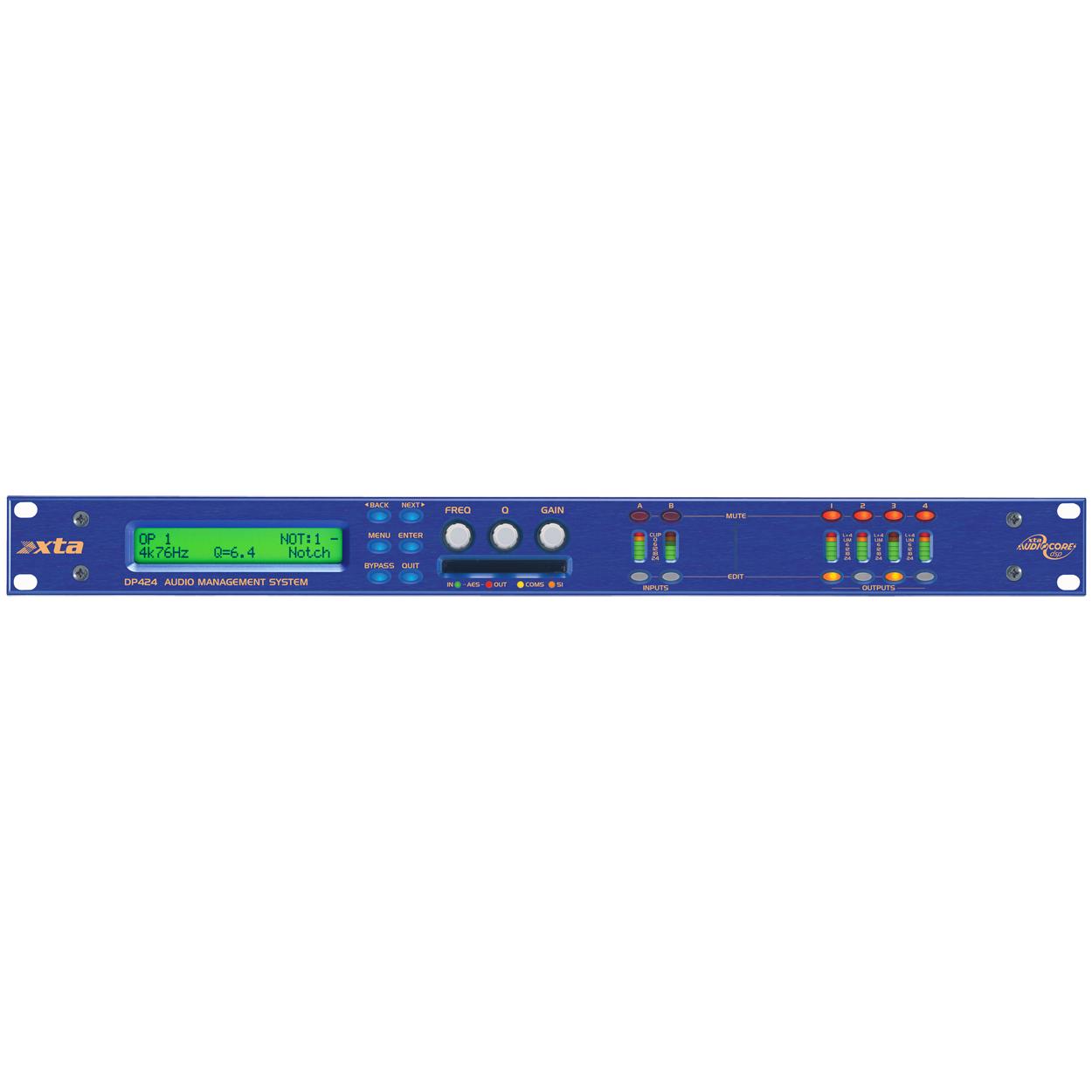 Afbeelding van XTA DP424 luidsprekerprocessor 2 in / 4 uit