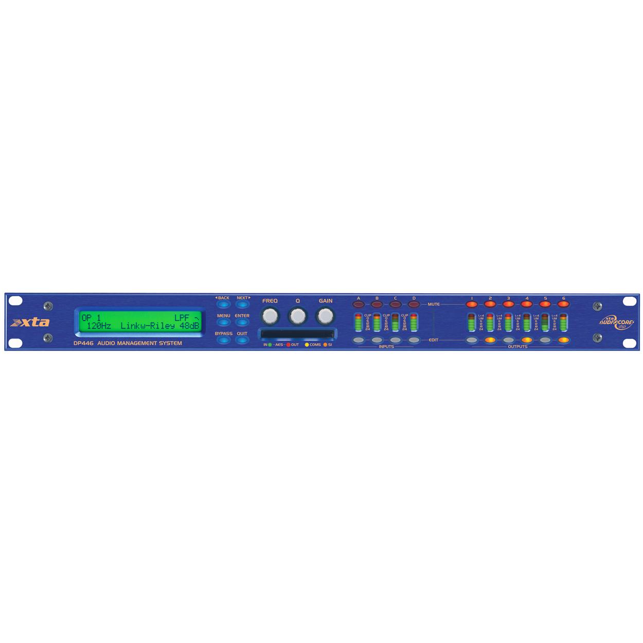 Afbeelding van XTA DP446 luidsprekerprocessor 4 in / 6 uit