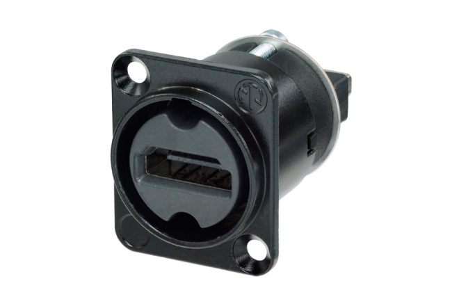 Afbeelding van Neutrik NA HDMI-W-B HDMI chassisdeel doorvoer zwart