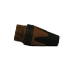 BXX 1 kleurtule voor Neutrik XLR-plug bruin