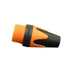 BXX 3 kleurtule voor Neutrik XLR-plug oranje