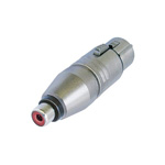NA 2 FP MF Adapter XLR female naar RCA female