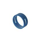 XXR 6 kleurring voor Neutrik XLR blauw