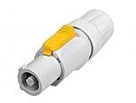 NAC 3 FCB Powercon kabeldeel wit