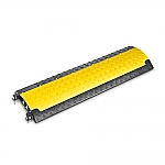Defender Mini kabelbrug zwart/geel 100cm