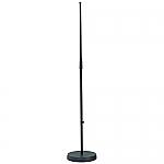 260 microfoonstatief met ronde voet, kleur zwart