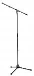 210/2 microfoonstatief met 1-delige hengel in de kleur zwart