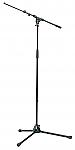 210/9 Microfoonstatief heavy duty 2-delig zwart