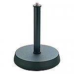 232 tafelstatief met ronde verzwaarde voet en een hoogte van 13cm