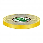 Gaffa Tape 19mm geel 50m, per rol