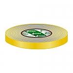 Gaffa Tape 19mm geel 50m, per rol