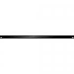 Blindplaat 19 inch 0,5HE met omgeknikte rand voor extra stevigheid