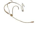 HSP 4-3 beige lemo Headsetmicrofoon met  LEMO-3 plug