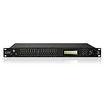 XP8080 luidsprekerprocessor met 8 inputs en 8 outputs en ethernet control