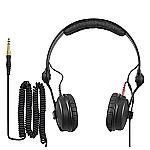HD 25 PLUS hoofdtelefoon met 2 soorten kabels en reserve oorkussens