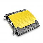 Defender Ultra L kabelbrug zwart/geel 78cm