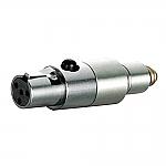 DAD 6010 verloopadapter van microdot naar MINI XLR 4p