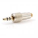 DAD 6034 verloopadapter van microdot naar 3,5mm mini-jack