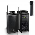 Roadman 102 B6 draagbare accu luidspreker met draadloze microfoon en CD/MP3/USB/SD