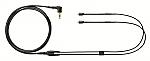EAC64BK vervangingskabel voor Shure SE-215/315/425/535 zwart