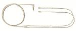 EAC64CL vervangingskabel voor Shure SE-215/315/425/535 blank