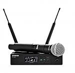 QLX D24 - SM58 draadloze zangmicrofoon met digitale overdracht