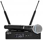 QLX D24 - B58 draadloze zangmicrofoon met digitale overdracht