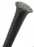 Polyester kous 15mm (10-24mm) zwart