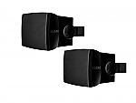 WX 302 B opbouw luidspreker 30W zwart, set van 2
