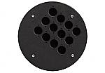 CRP 312 blindplaat met 12x D-size hole voor Procab CDM-310