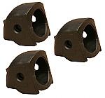Voet koppelset van 3 stuks voor poot K&M microfoonstatief