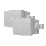 WX 502 MKII W opbouw luidspreker 50W wit, set van 2