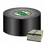 Gaffa Tape 75mm zwart 50m, doos van 12 stuks