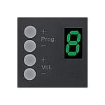 DW 3020B Wall Panel Controller voor R2/M2, kleur zwart