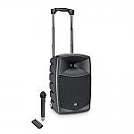 Roadbuddy 10 luidspreker op accu met draadloze microfoon en bluetooth