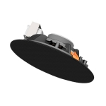 Cena 706/B Plafond luidspreker - zwart - 100V - 10 Watt