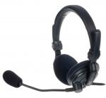 HS2/D headset met microfoon voor intercom, dubbelzijdig