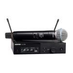 SLXD24/B58 handzender systeem met BETA58 microfoon