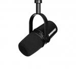 MV7-K podcastmicrofoon met USB voor o.a. voice-over en vocals, kleur zwart