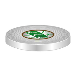 Gaffa Tape 19mm wit 50m, per rol